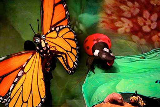 Hudson Vaganbond Puppets presents Butterfly: The Story of a Life Cycle