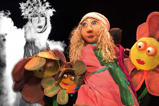Hudson Vagabond Puppets presents The Snow Queen